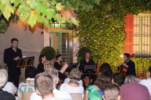 Concert du  27 Août 2015 - Domaine de Sigalloux - Var