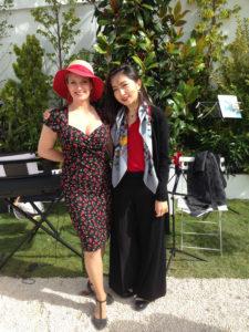 Delphine Doriola (soprano) Qiaochu Li (pianiste)